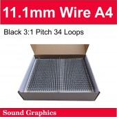 11mm Twin Loop Wire Black