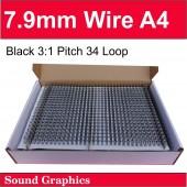 7.9mm Twin Loop Wire Black